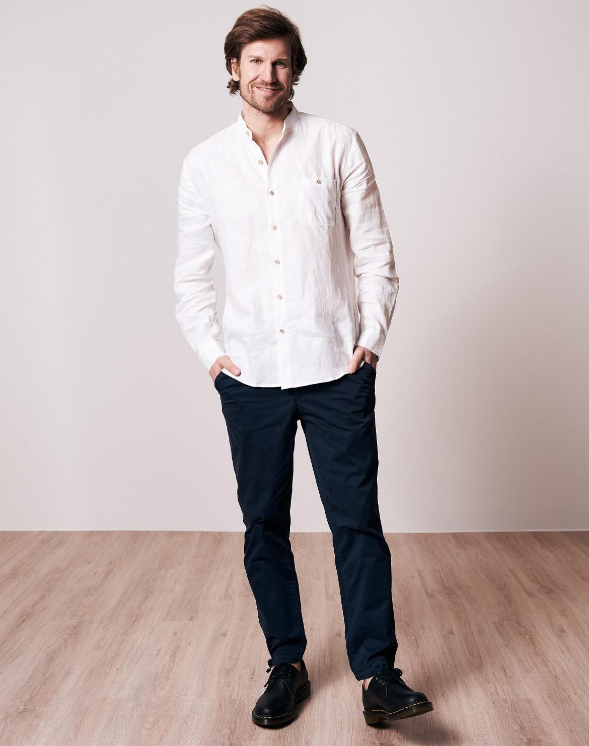Schawola Leinen Hemd