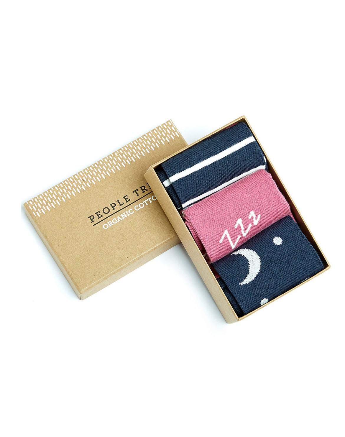 Nightwear Socken 3er in Box