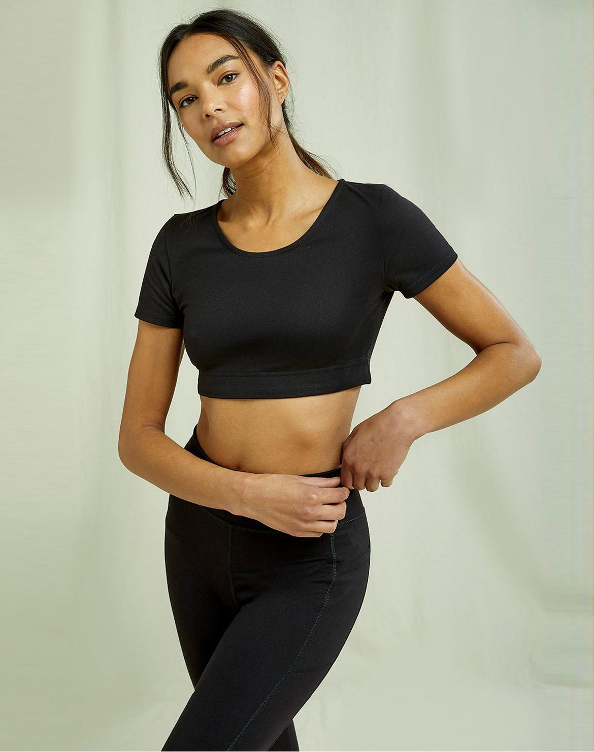 Yoga Scoop Crop Top