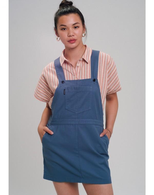 Canvas Strappy Kleid