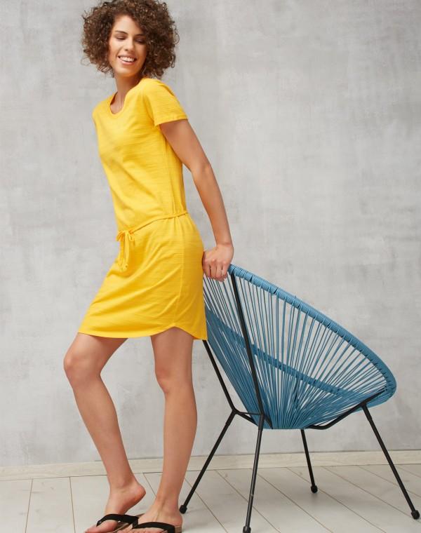 Basic Jaquard Kleid