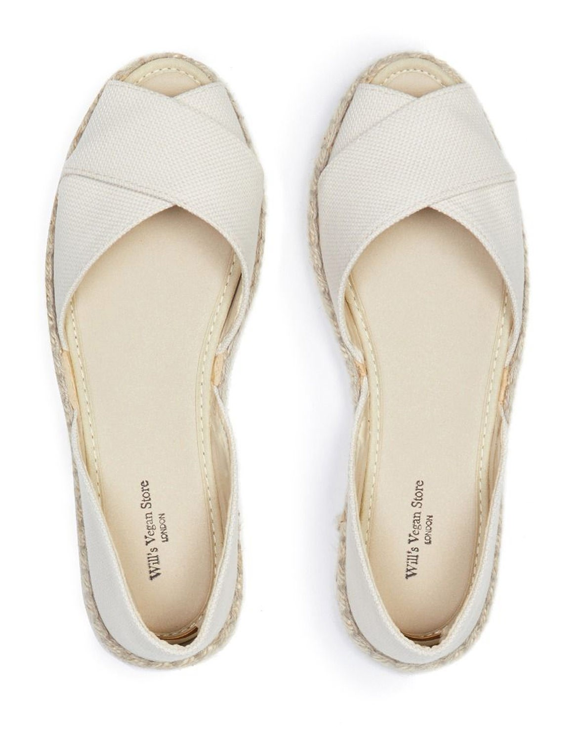 Recycled Espadrille Cross Over