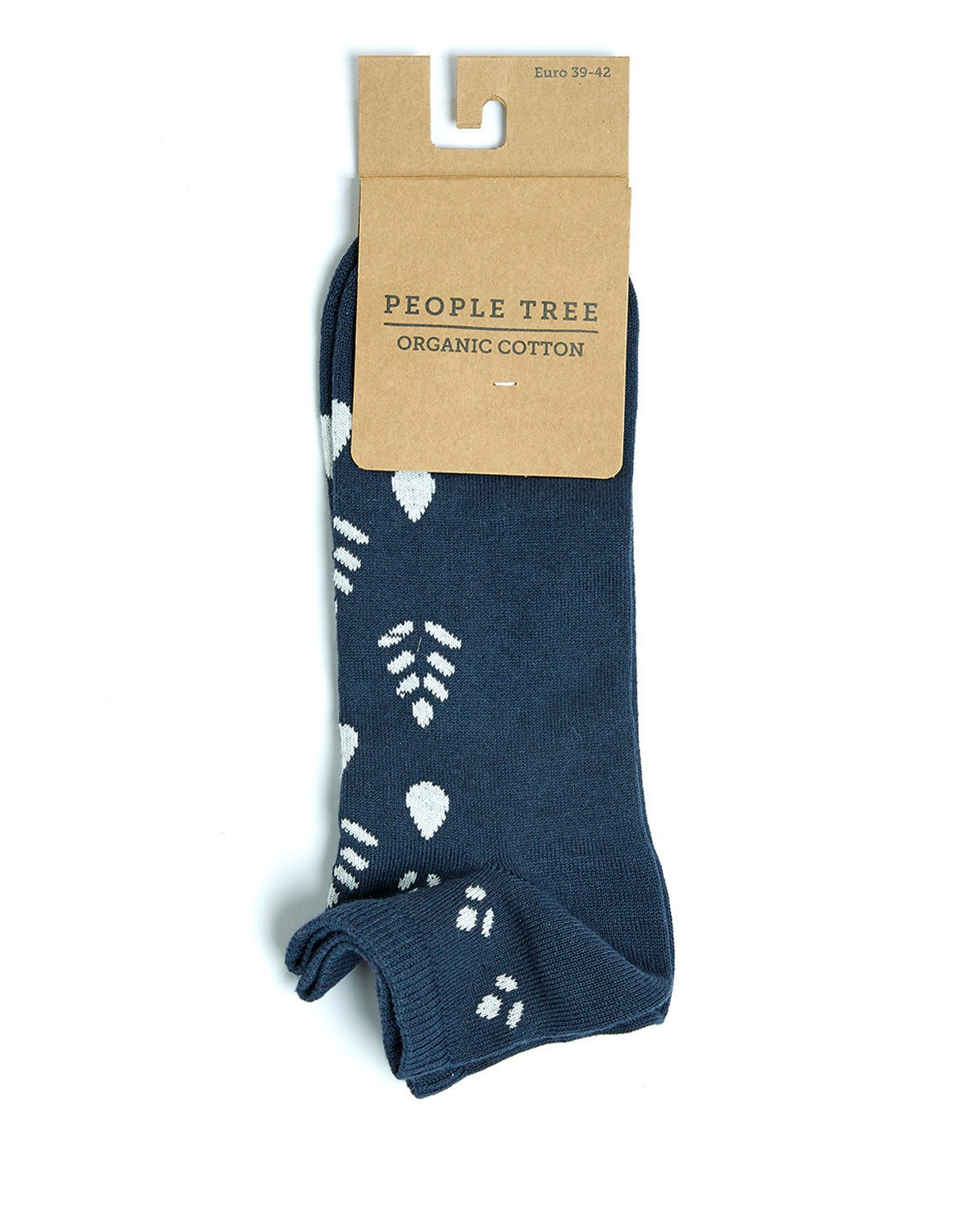 Block Print Sneaker Socken