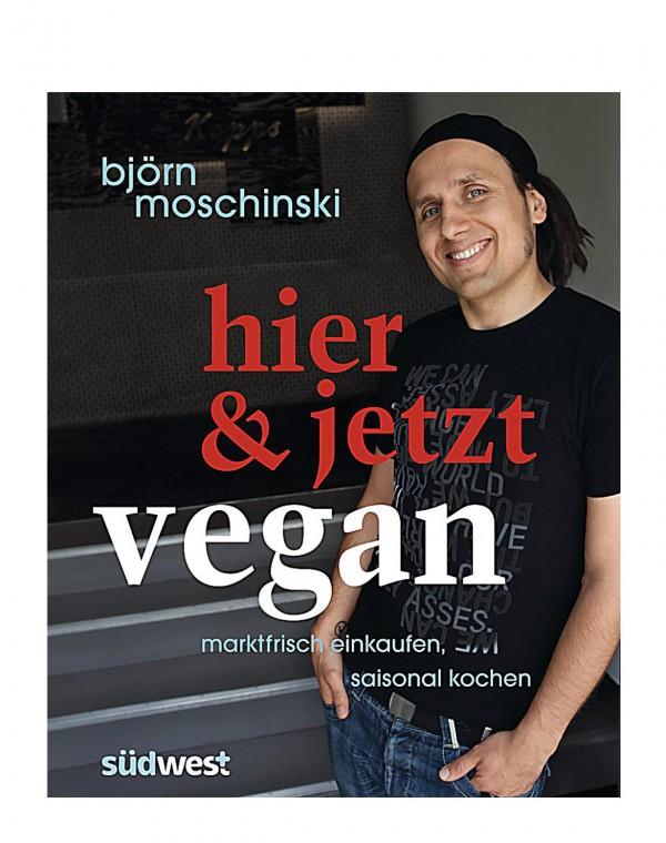 Hier & jetzt vegan Kochbuch MÄNGELEXEMPLAR