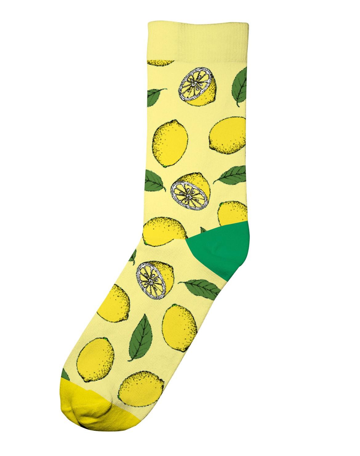 Lemon Socken