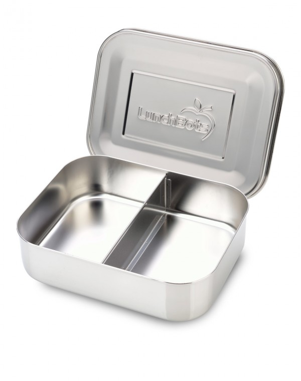 Stainless Steel Lunchbox DUO 600ml