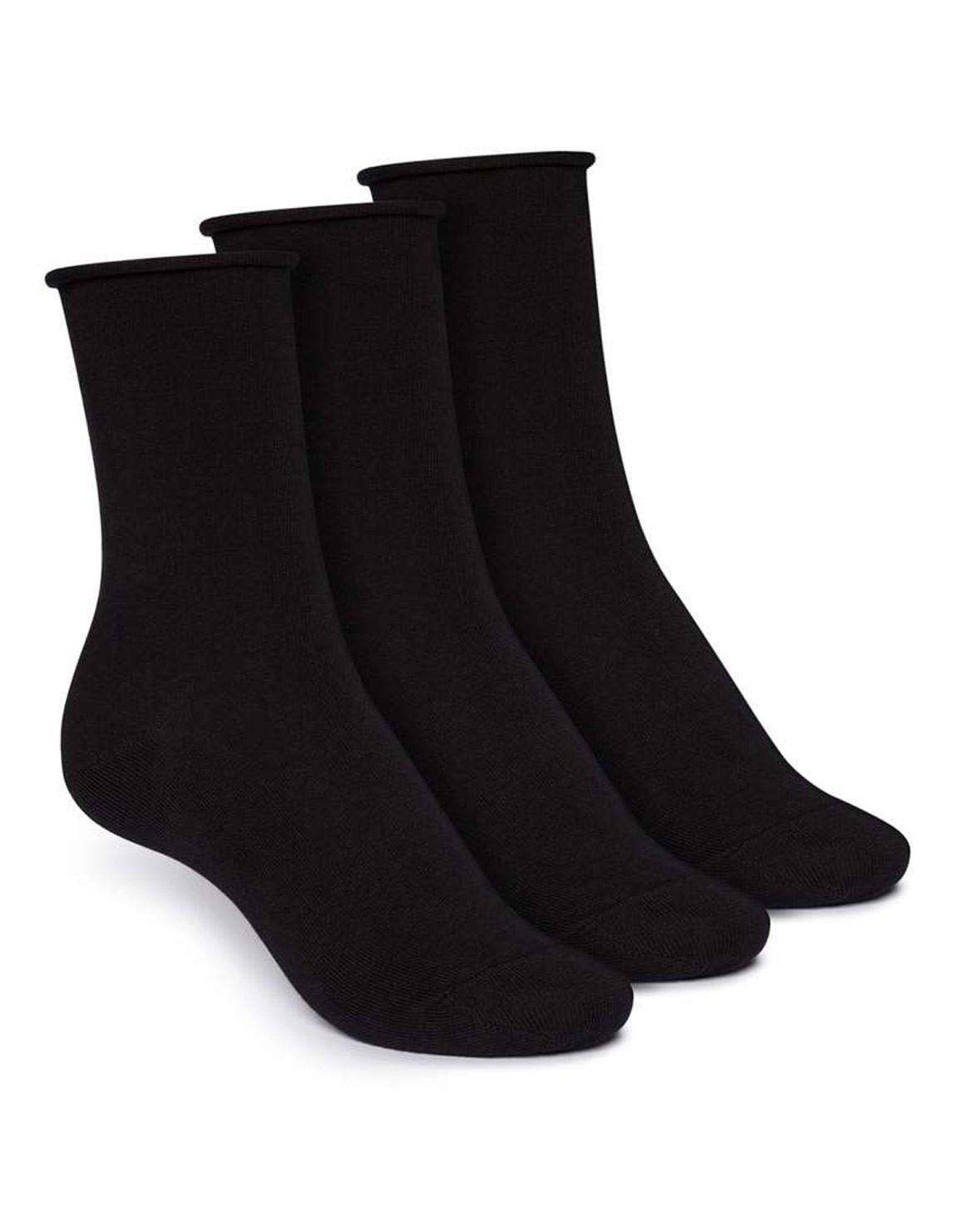 3er Pack Relax Mid Socken