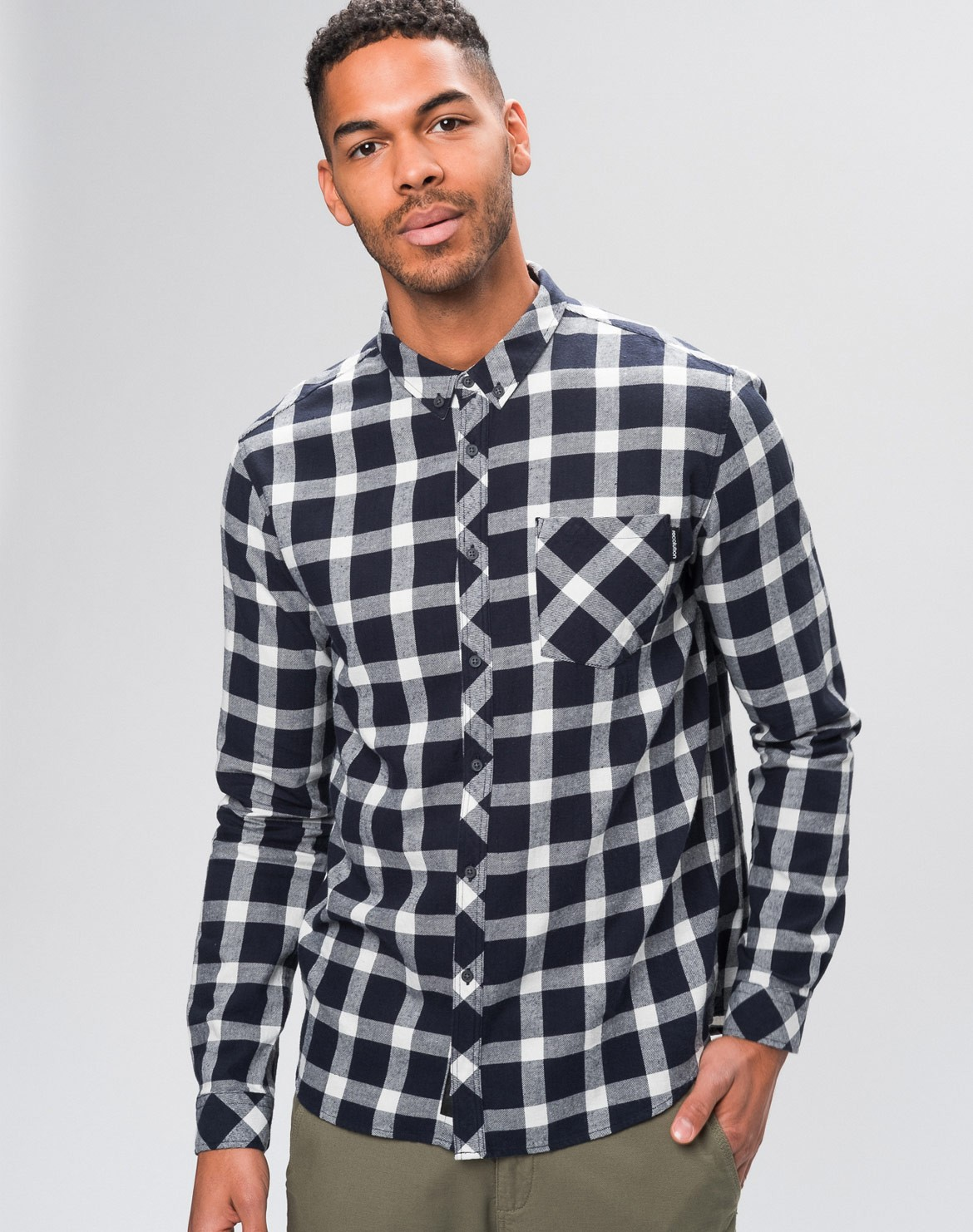 Flanell Hemd Checked
