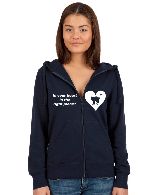 Is Your Heart... Kapuzenjacke
