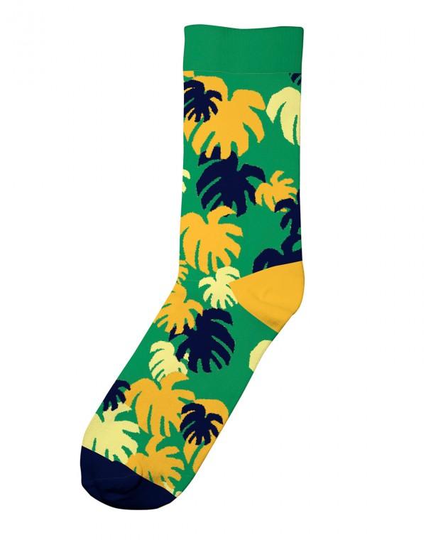 Monstera Socken
