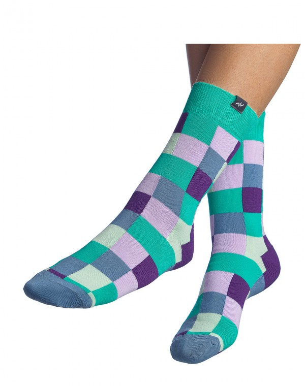 Socken Pixelate - Royal Bloom