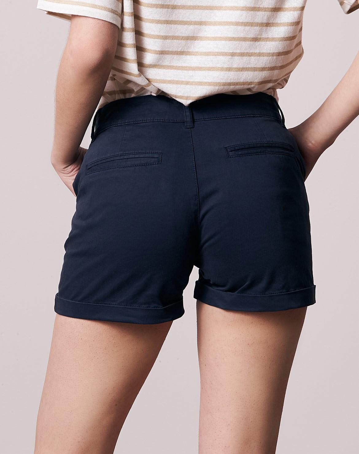 Eco Micro Chino Shorts