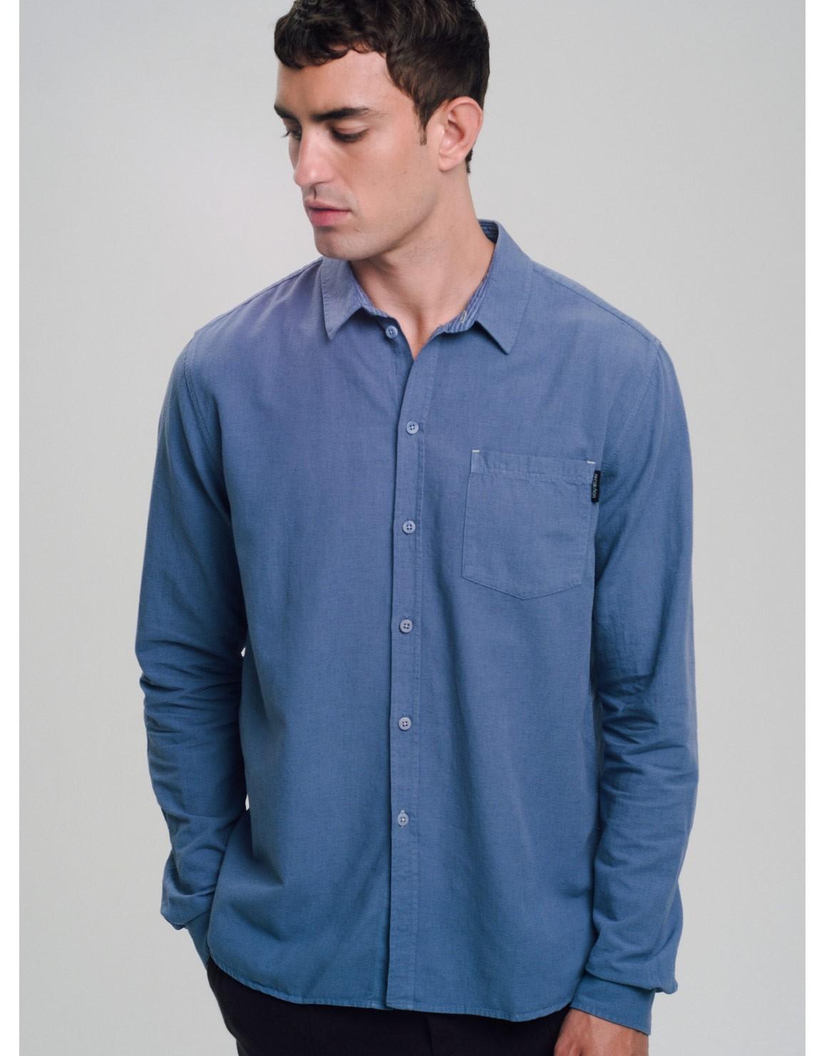 Leinen Basic Hemd