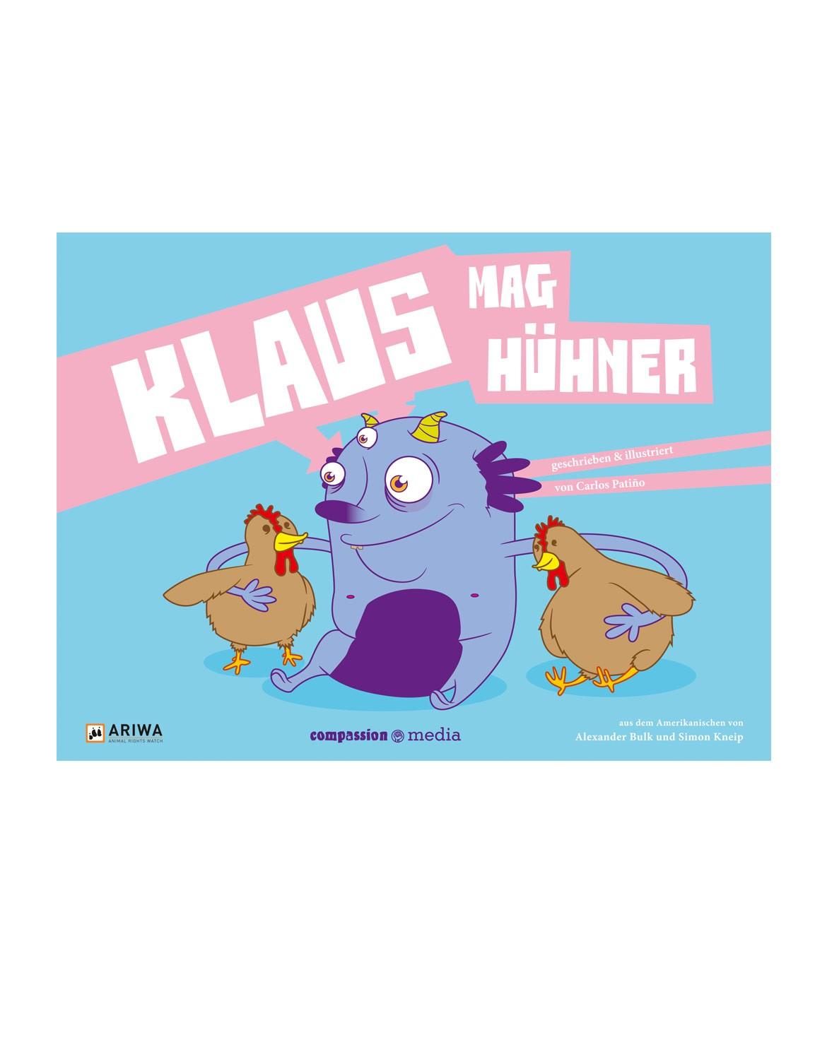 Klaus mag Hühner Kinderbuch