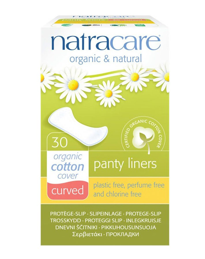 Organic Panty Liners Curved