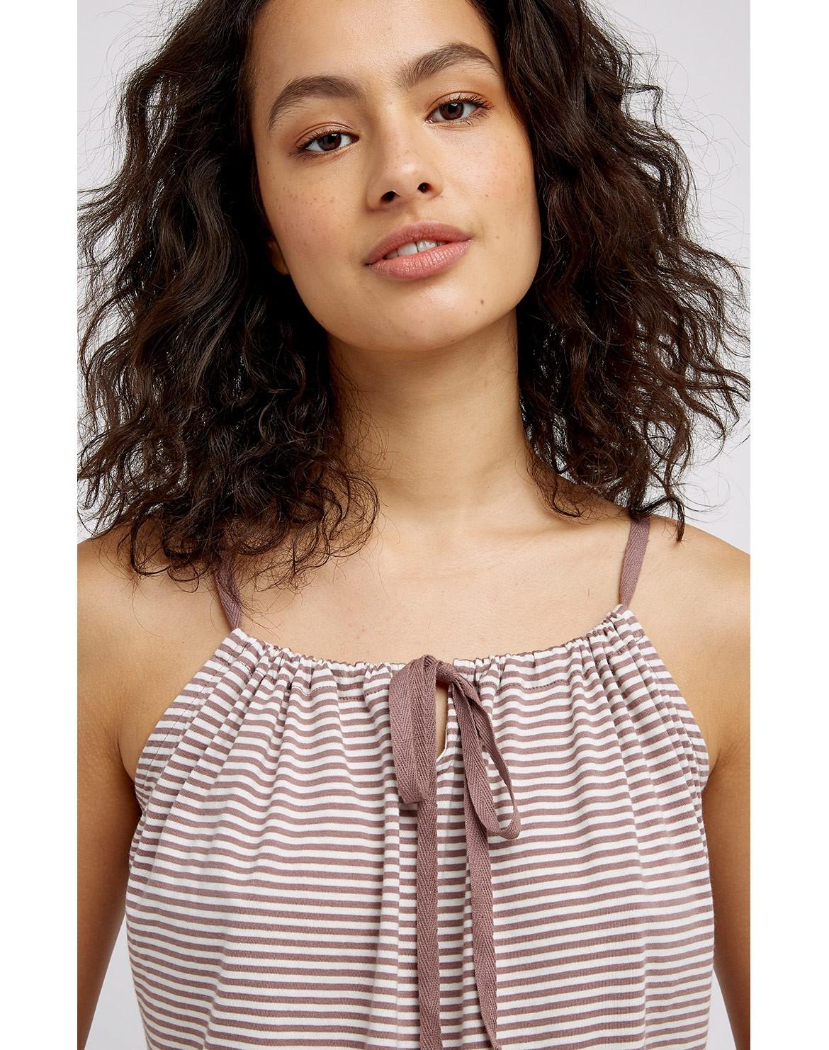 Stripe Pyjama Top