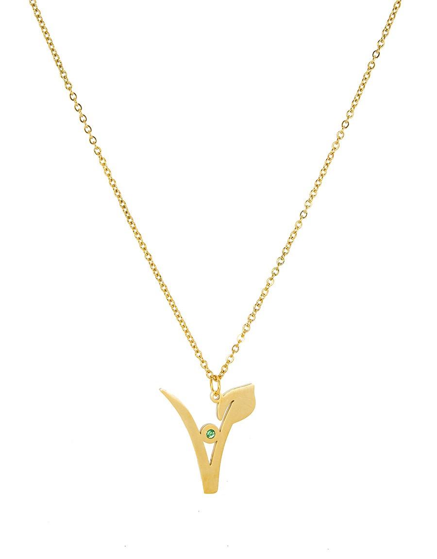 Halskette V Gold