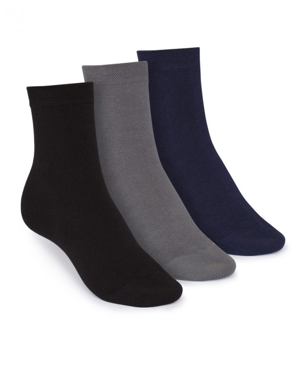 3er Pack Mid-Top Socken