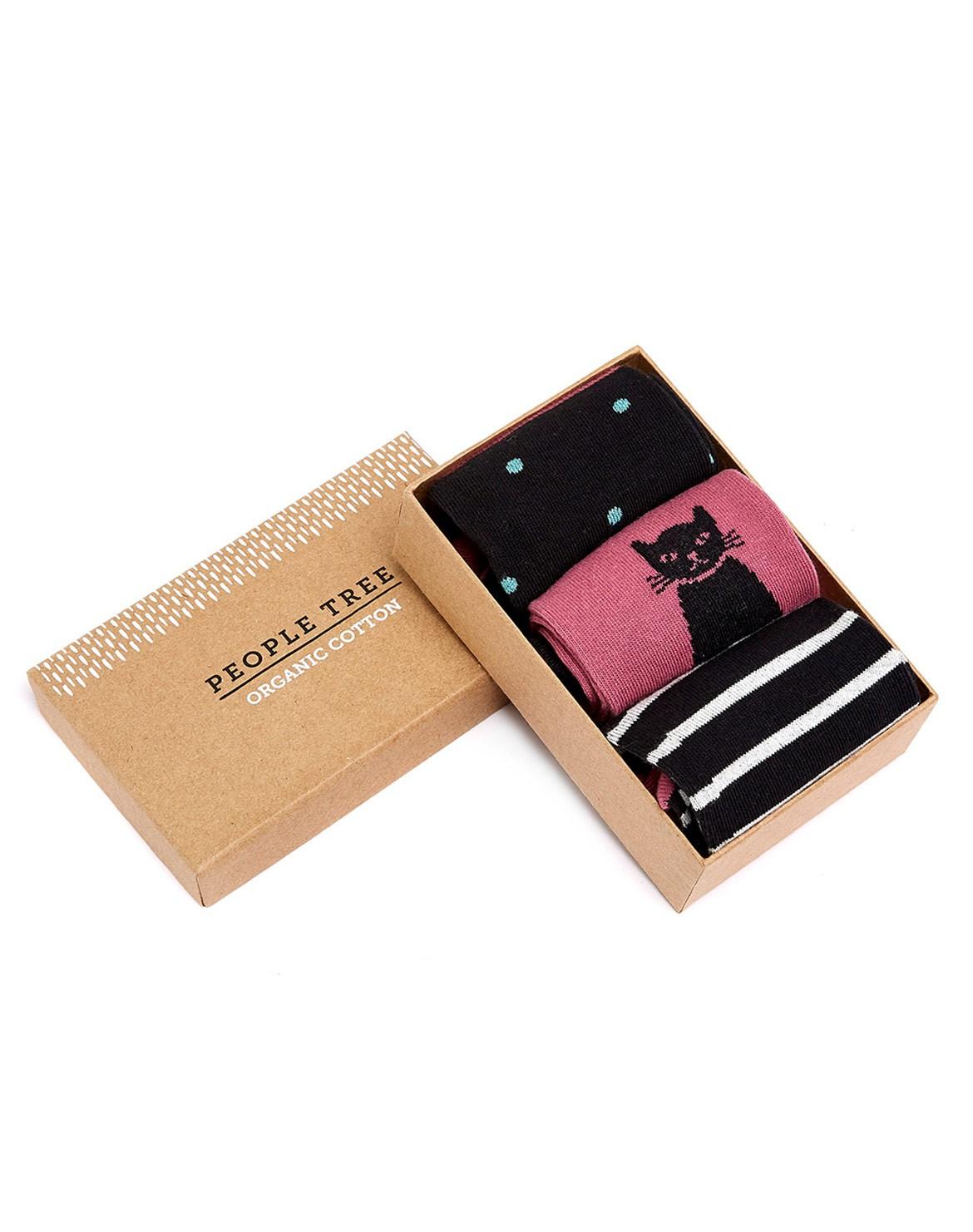 Mulberry Socken 3er in Box