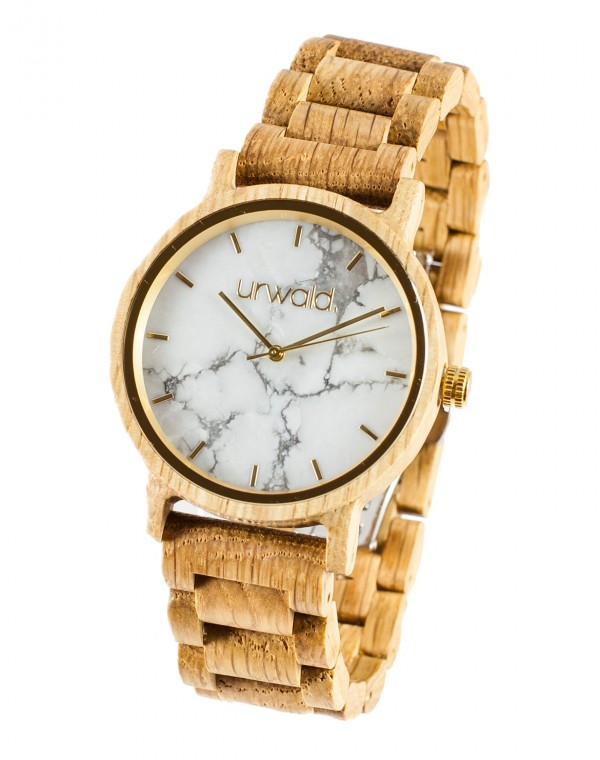 Wooden Watch Schneeberg Oak 40mm
