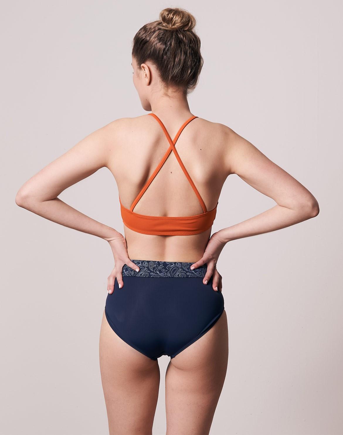 Econyl® Midwaist Bikini Hose