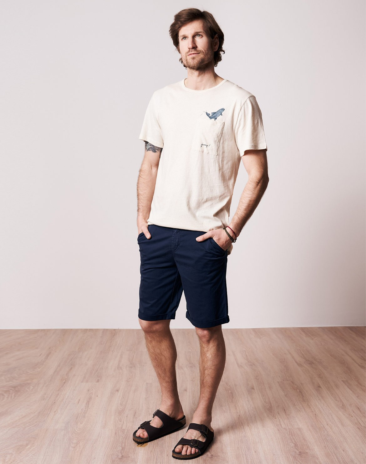 Micro Chino Shorts