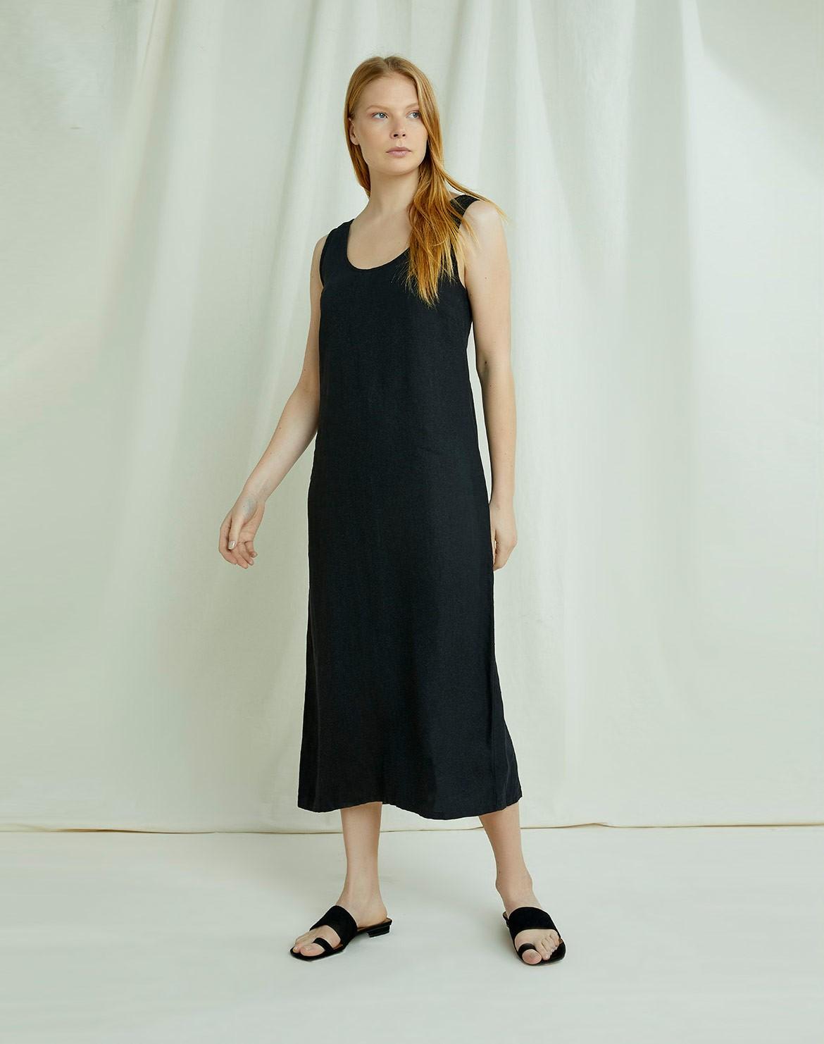 Alana Linen Kleid