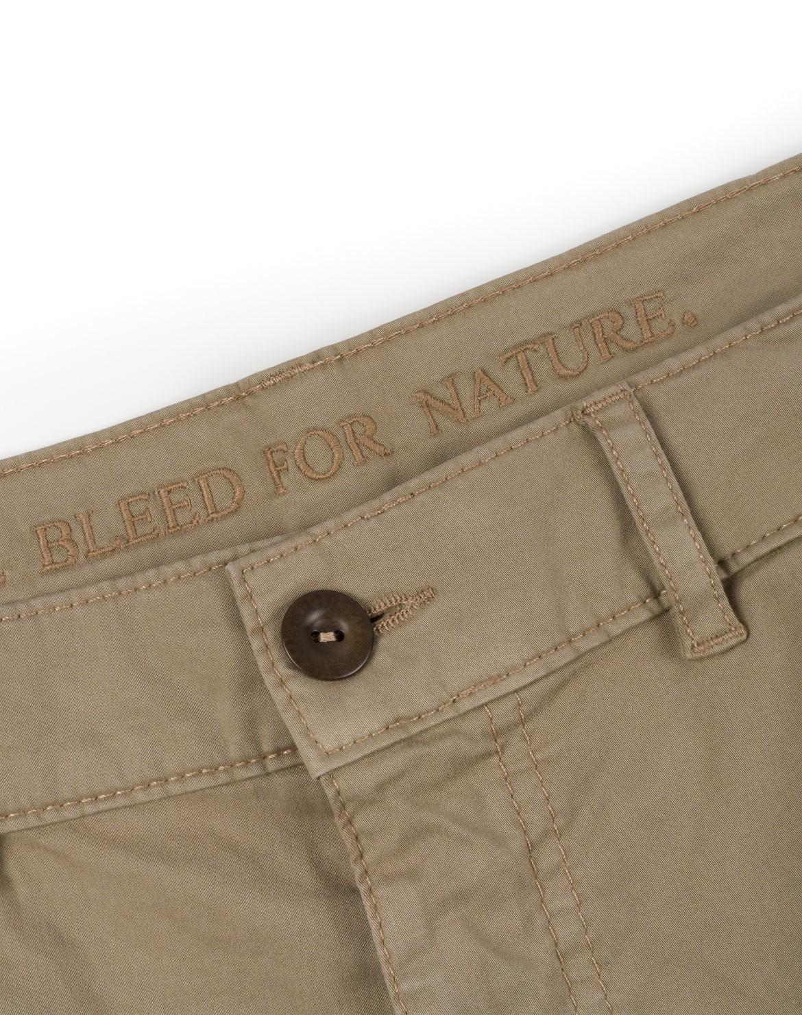 Organic Cargo Shorts