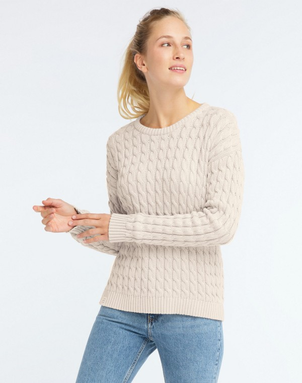 Cable Strickpullover