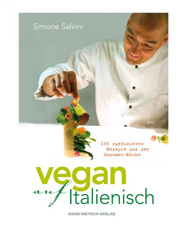 Vegan auf Italienisch Buch MÄNGELEXEMPLAR