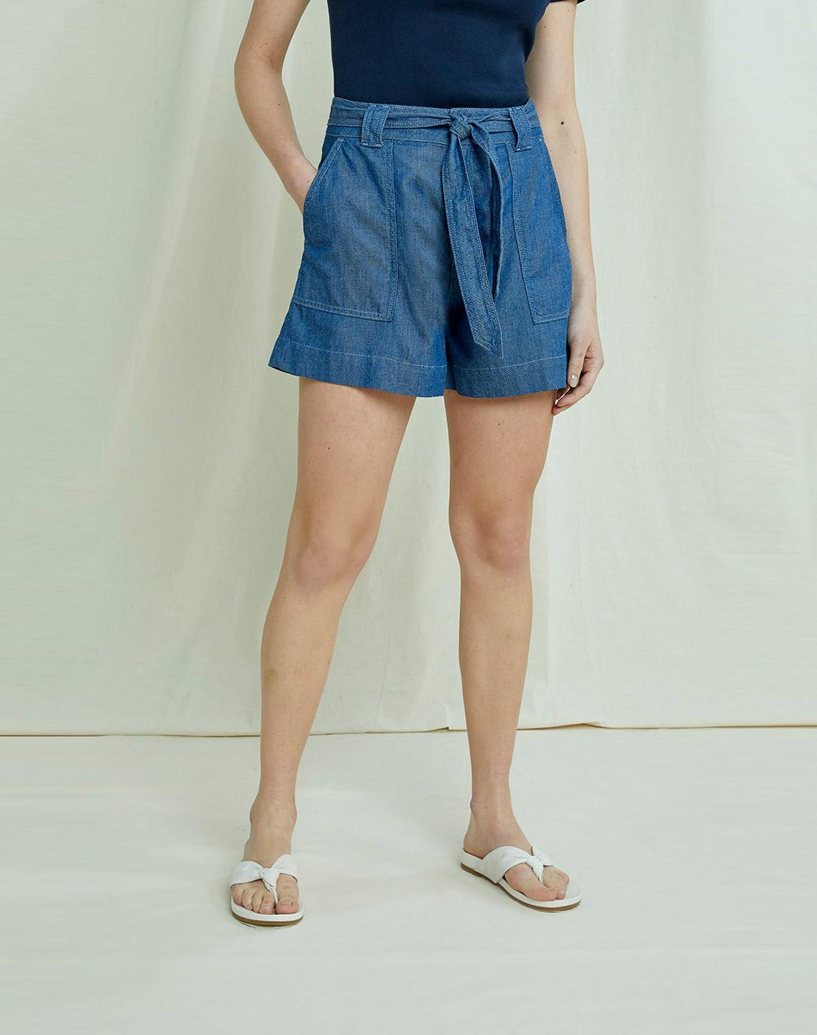 Zahara Lightweight Denim Shorts