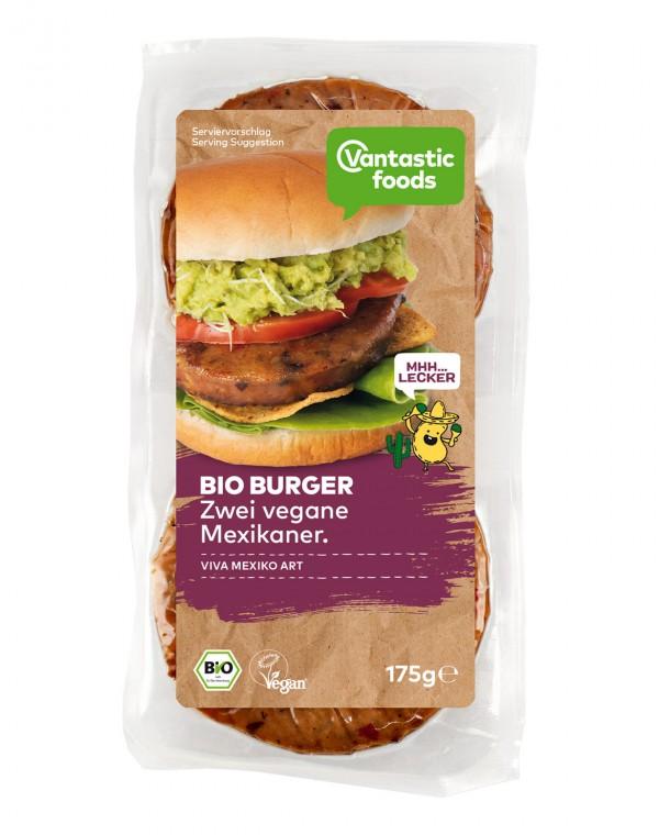 Bio Burger Viva Mexiko 175g