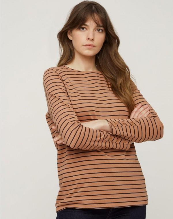 Felicity Stripe Langarm