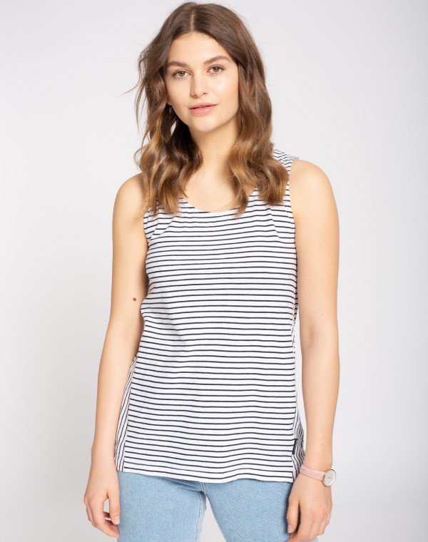 Stripes Casual Top