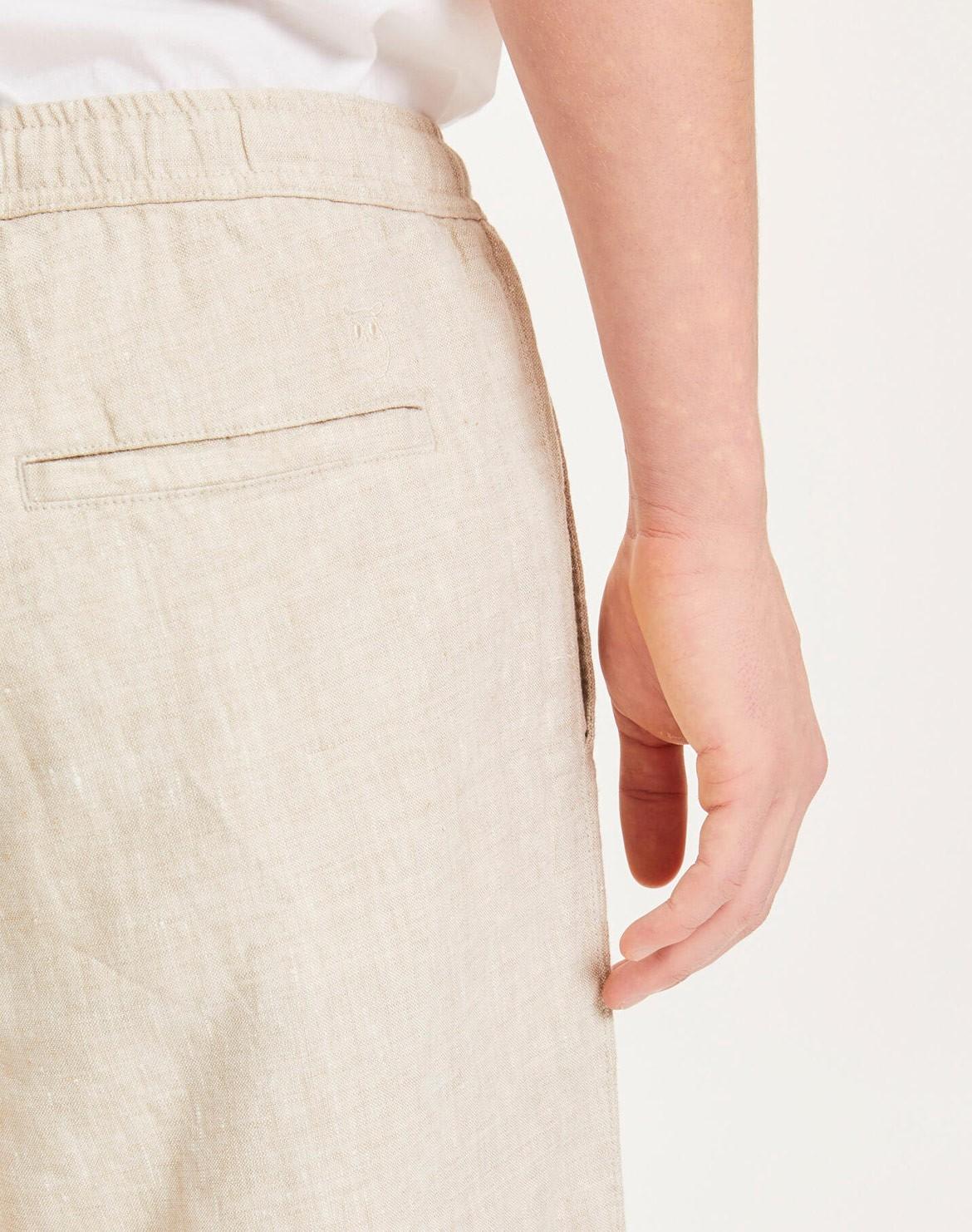 Fig Loose Leinen Shorts