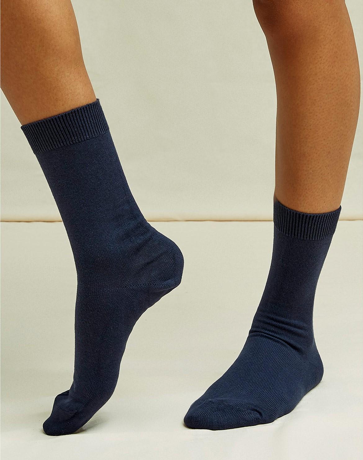 Organic Plain Socken