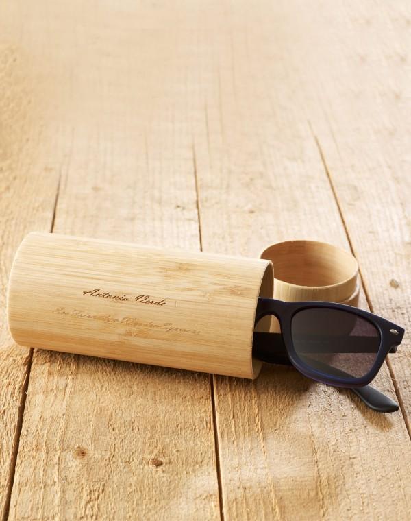 Brillen Hülle Bambus