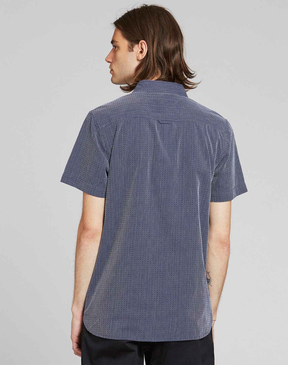 Sandefjord Dobby Kurzarmhemd