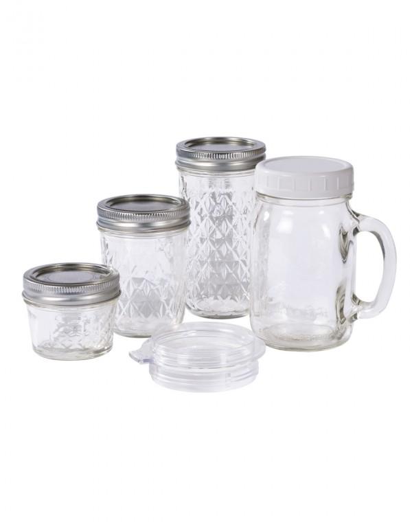 Personal Blender Glas-Mixbecher Set