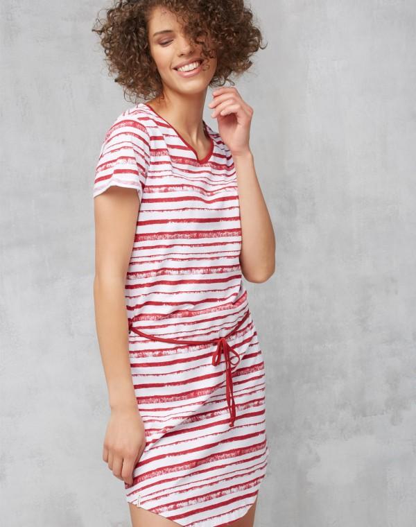 Stripes Basic Jerseykleid