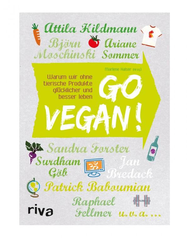 Go Vegan! Buch MÄNGELEXEMPLAR