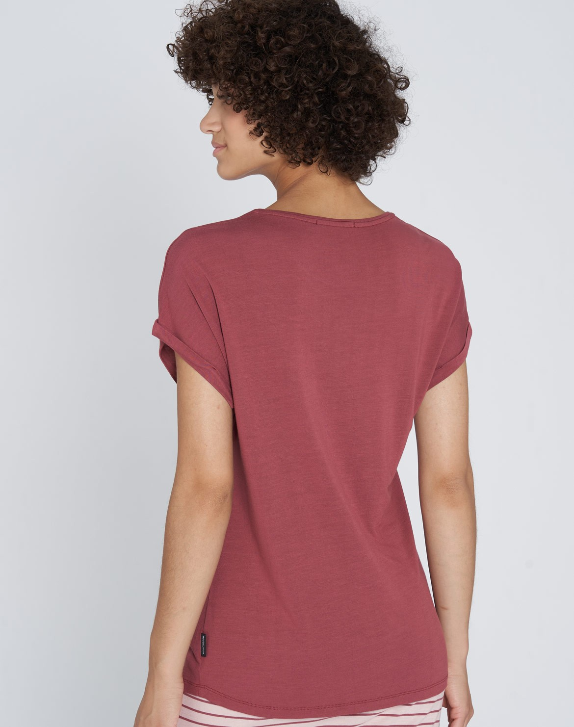 Turn-Up EcoVero T-Shirt