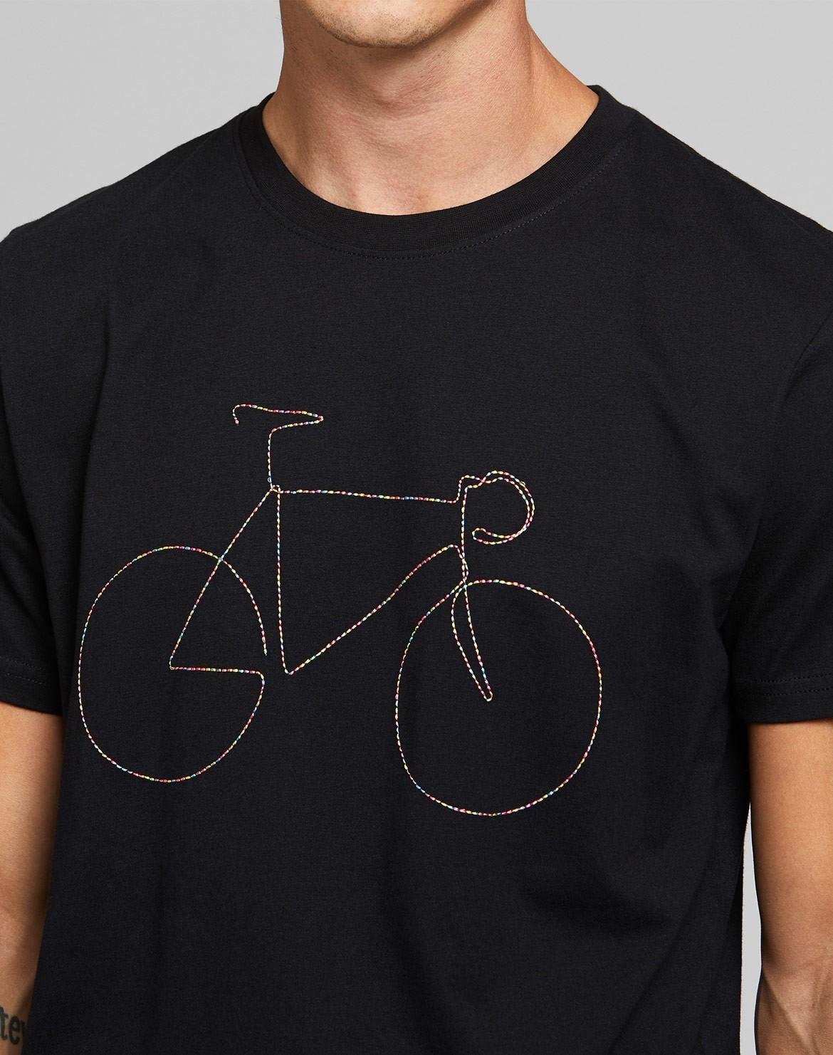 Stockholm T-Shirt Rainbow Bicycle