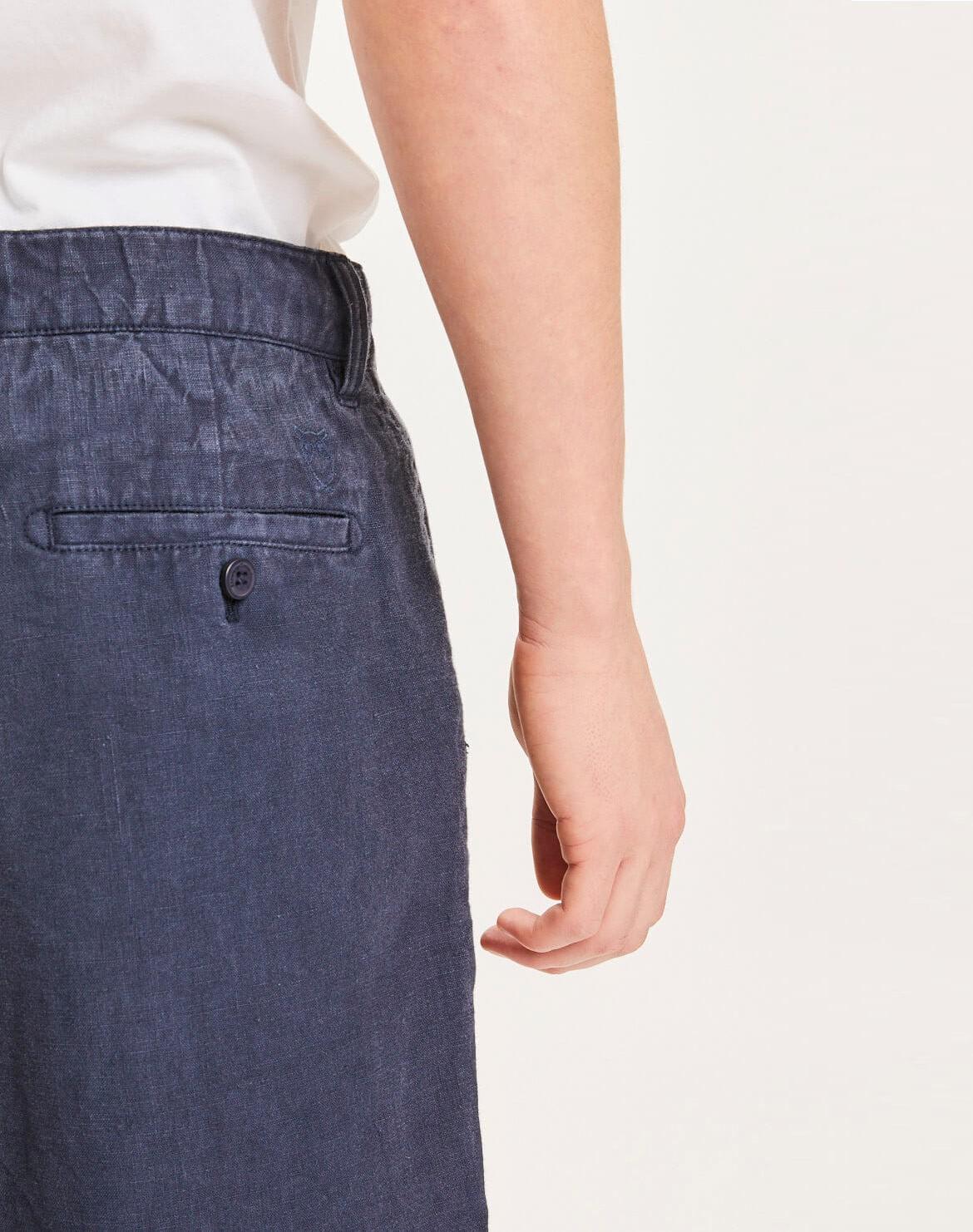 Chuck Loose Leinen Shorts