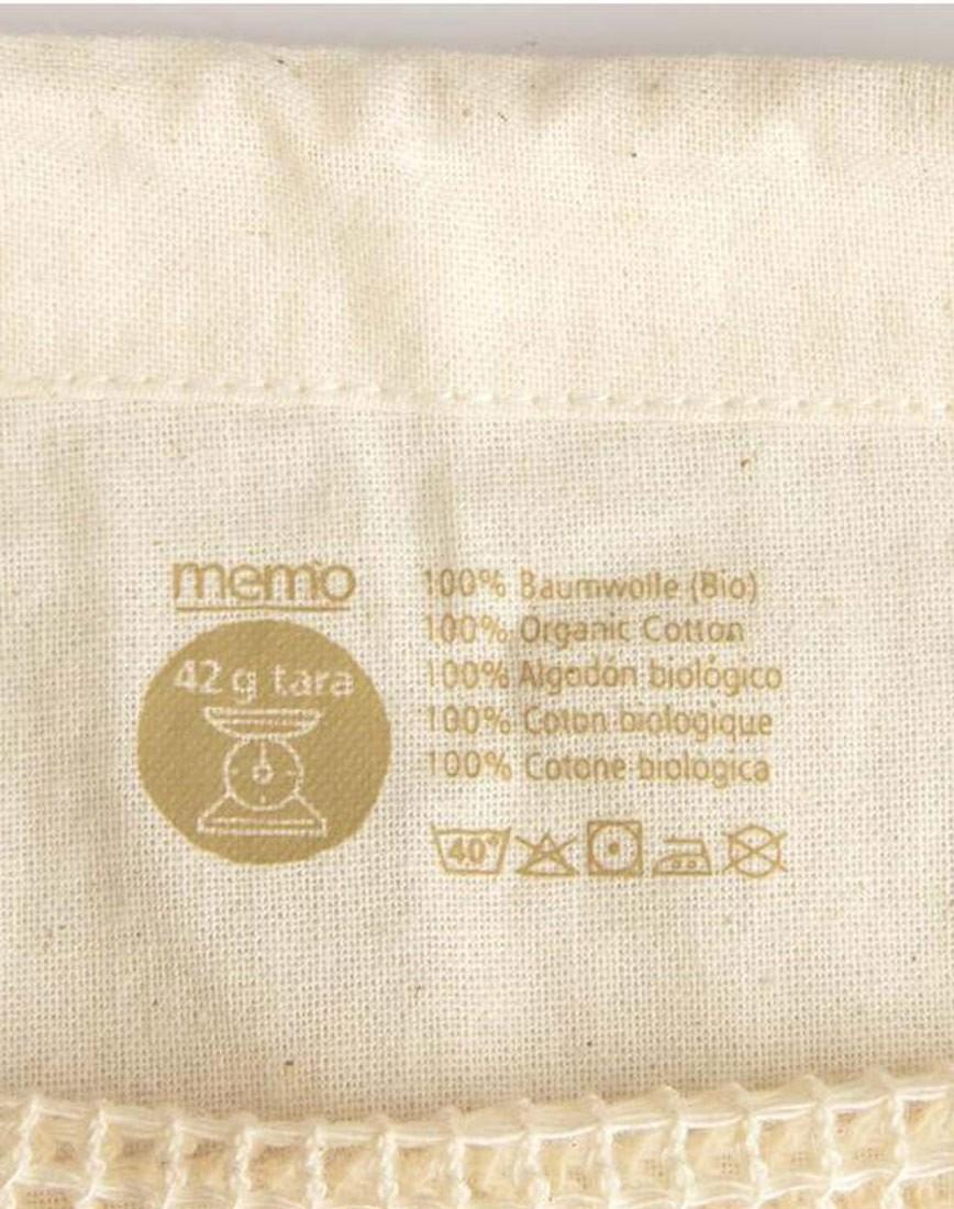 Bio-Baumwollbeutel für Obst und Gemüse 2 Stk.