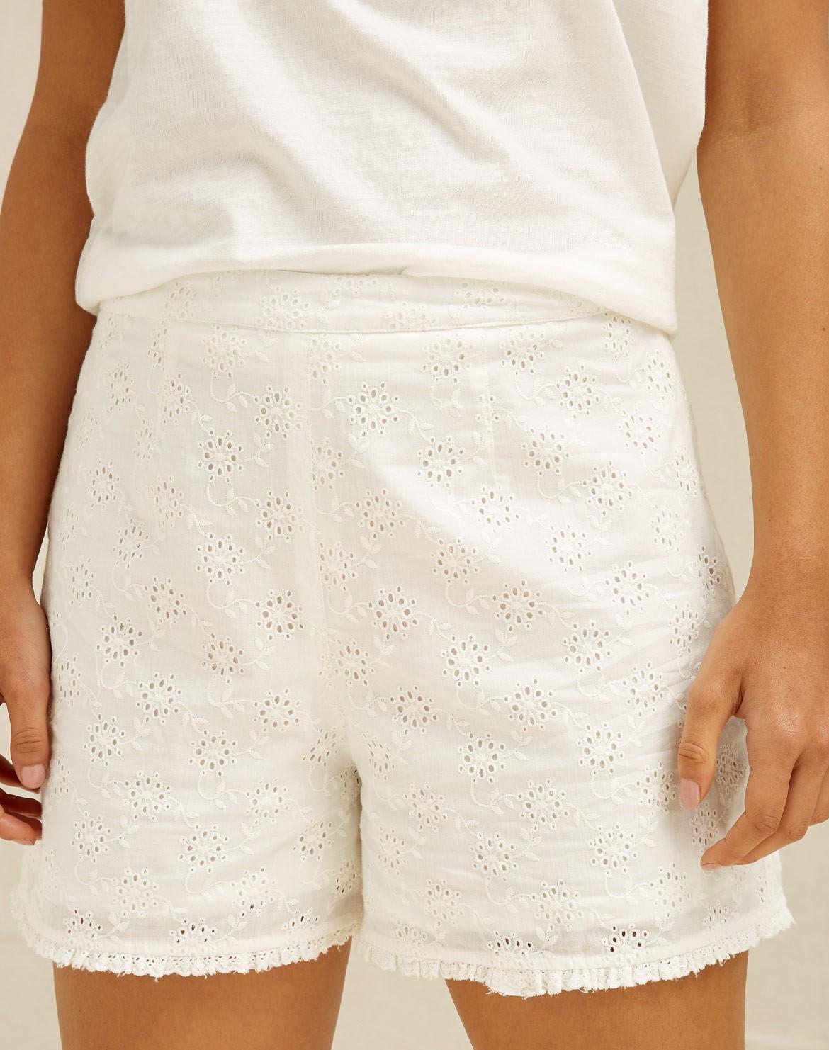 Nova Broderie Shorts