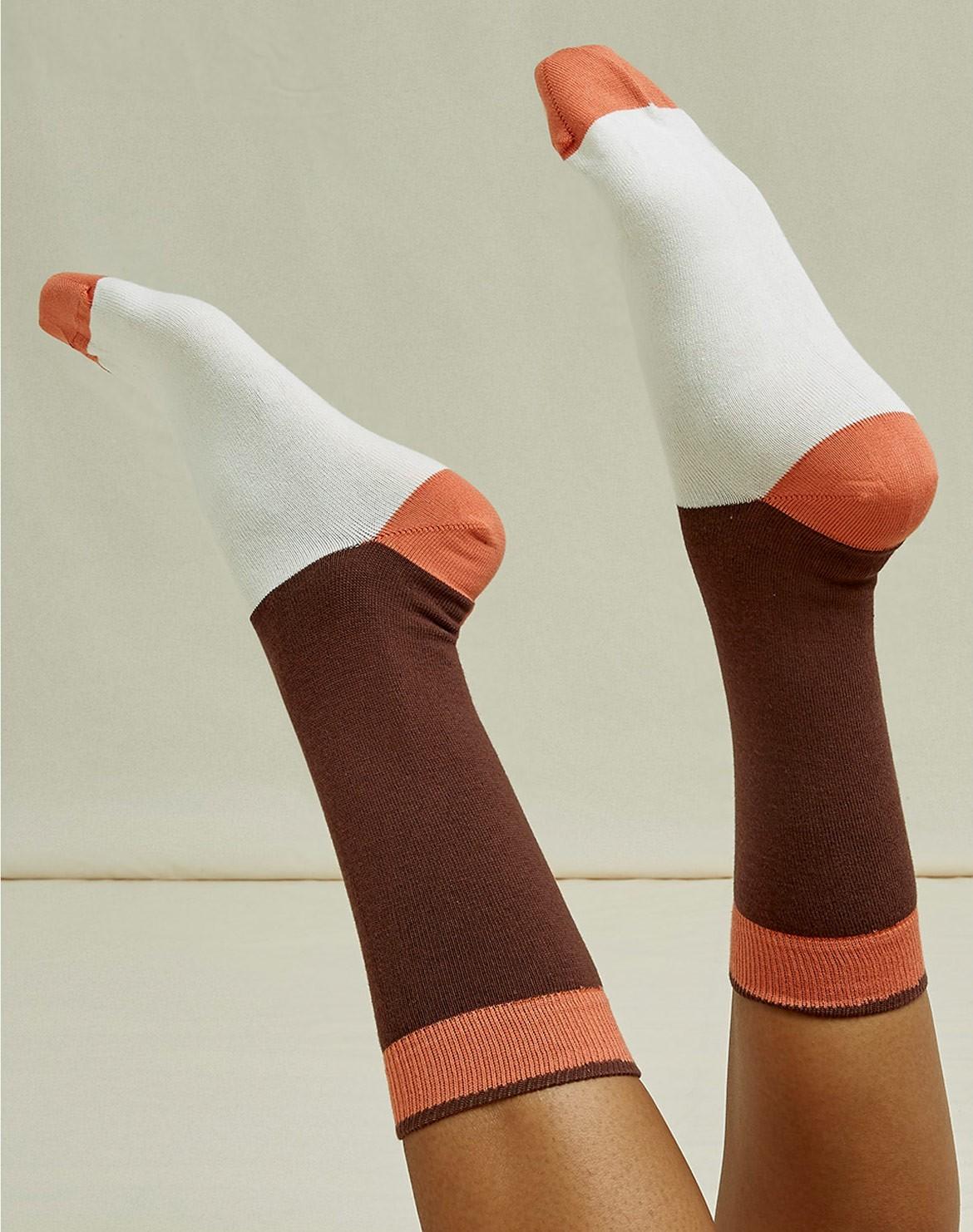 Colourblock Socken
