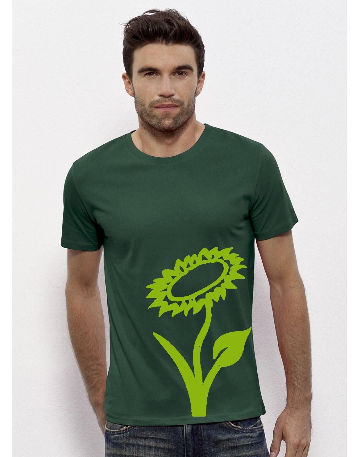 Vlower T-Shirt Grün-Grün