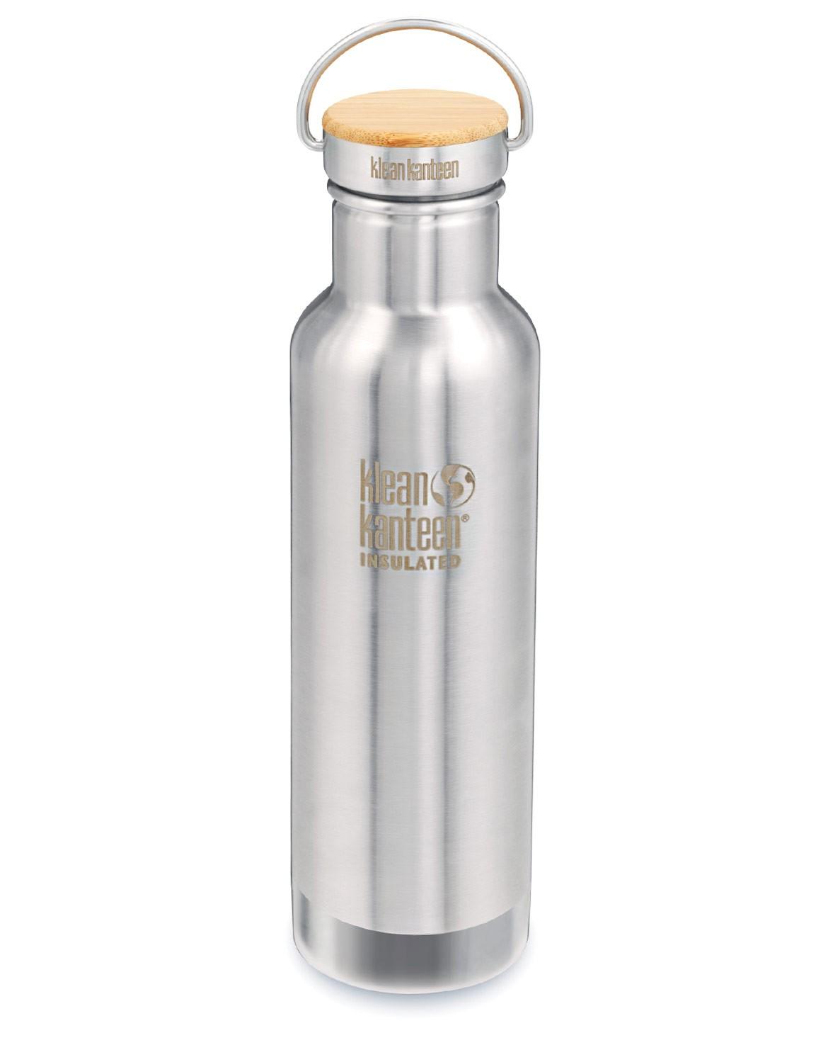 Trinkflasche Reflect vacuum insul 592ml Bambus Cap