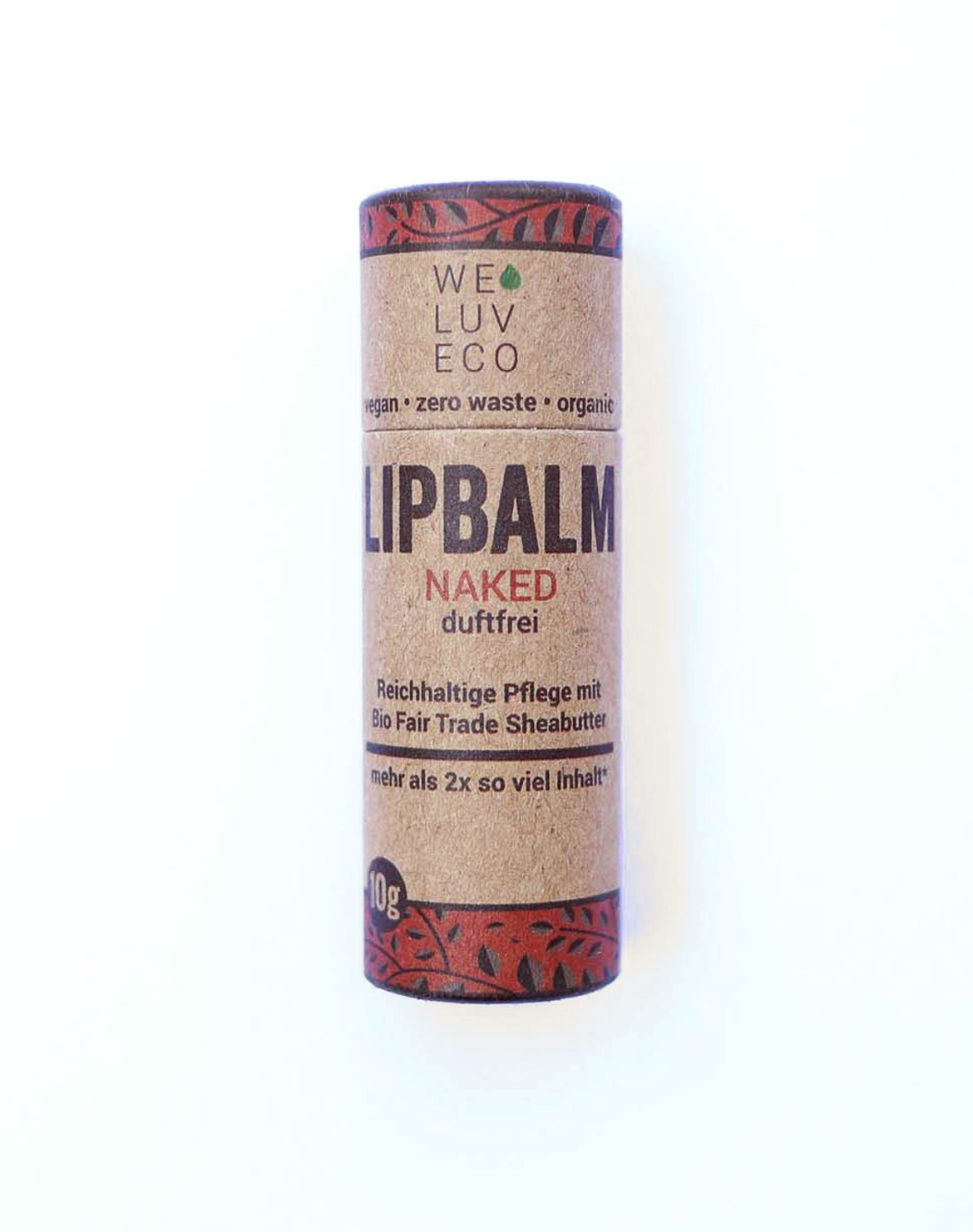 Naked (scent-free) Lip Balm